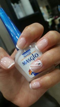 Masglo_oficial How To Do Nails, Fun Nails, Manicure And Pedicure, Diana, Nail Designs, Nail Polish, Nail Art, Makeup, Hair