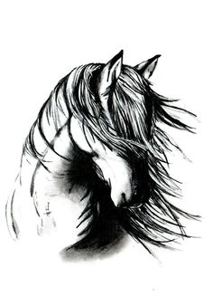 horse head tatoos on the neck - Google Search
