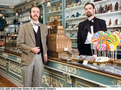 Philly and the Chocolate Factory: The Berley Brothers and Shane's Confectionery - Articles
