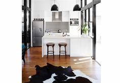 10 Black and White Kitchens We Love