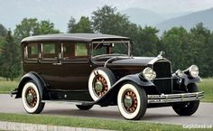1930 Pierce-Arrow Model B Five-Passenger Sedan http://classic-auto-trader.blogspot.com