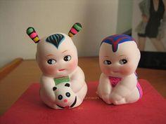 Huishan clay figurine Chinese Babies, Clay Figurine, Folk, China, Crafts, Manualidades, Popular, Forks, Folk Music