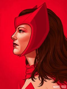 Scarlet Witch by Mike Mitchell *