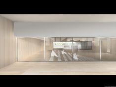 Cruz y Ortiz Arquitectos | Ampliación de Centro Audiovisual Alkmaar Diseño interior de salón de actos de Cruz y Ortiz Arquitectos