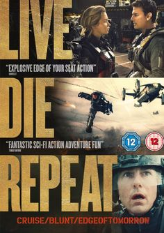 Edge of Tomorrow [DVD] [2014]: Amazon.co.uk: Tom Cruise, Emily Blunt, Bill Paxton, Brendan Gleeson, Noah Taylor, Doug Liman: DVD & Blu-ray