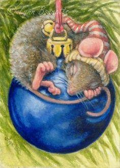 Lynn Bonnette Ilustration Christmas Illustration