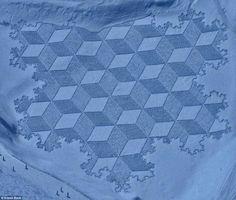 Snow Crop Circles