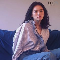 #ELLEtv #어느날 #엘르 3월호에 봄바람처럼 찾아온 #천우희 바로 지금 만나요 @thousand_wooo  via ELLE KOREA MAGAZINE OFFICIAL INSTAGRAM - Fashion Campaigns  Haute Couture  Advertising  Editorial Photography  Magazine Cover Designs  Supermodels  Runway Models