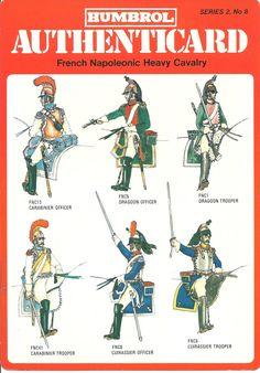 солдаты униформы и военной истории: Humbrol - Французский наполеоновской тяжелая кавалерия