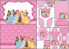 Disney Princess Pary: Free Printable Party Invitations.