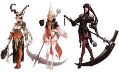 ✧ #characterconcepts ✧ Concept Art: Vindictus