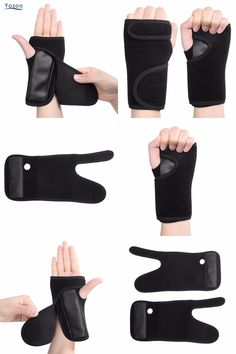 [Visit to Buy] 1PC Health Care Left/Right Hand Brace Removable Splint Muscle Protector Sprains Fractures Wrist Support #Advertisement