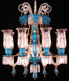 A house by the sea…………. Ceiling Chandelier, Antique Chandelier, Antique Lamps, Dramatic Lighting, Unique Lighting, Lamp Light, Light Up, Lustre Vintage, Chandelier Makeover