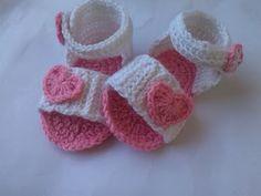 Crochet - Crosia Free Patttern Urdu, Hindi Video Tutorials: Step by Step Baby Crochet Sandal