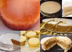Este bolo tem um sabor igual ao bem casado e faz muito sucesso. Clássico, saboroso e fácil de fazer.  INGREDIENTES MASSA  • 8 ovos em temperatura ambiente • 300 gramas de açucar (1 1/2 xicara) • 1 colher de chá de sal • 220 gramas de farinha (1 3/4 xicara) • 80 gramas de amido de milho (maizena) (1/2 xícara) • 1 colher de sopa de baunilha  RECHEIO  800 gr. de doce de leite ou 2 latas de leite condensado cozidas  COBERTURA  200 gr de açucar de confeiteiro peneirado (2 xicaras) 30 ml de água…