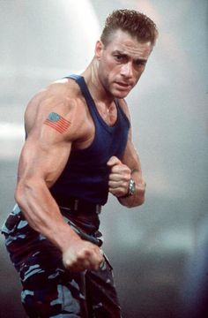 Jean Claude van Damme in Streetfighter Top Hollywood Actors, Hollywood Stars, Steven Seagal, Martial Arts Movies, Martial Artists, Action Movie Stars, Action Movies, Chuck Norris, Hulk Hogan