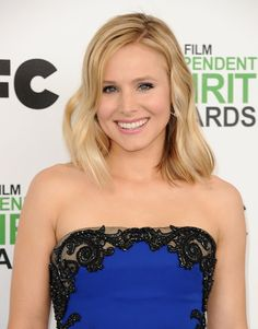 Pin for Later: Kristen Bell on Having a Lob, Being a Mom, and Loving Lipstick