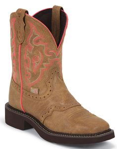 L9604 Women's Gypsy Western Justin Boots - Brown Western Boots, Cowboy Boots, Justin Boots, Brown Boots, Westerns, Gypsy, Cowboys, Leather, Shoes