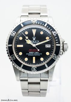 Rolex Double Red Sea Dweller 1665