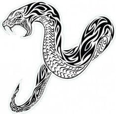 The American and Japanese traditional tattooing features snake images that represent different meanings. As the art of tattooing advances, snake tattoos become popular, and there are now iconic and classic images for the modern tattoos. Modern Tattoos, Trendy Tattoos, Tribal Tattoos, Snake Sketch, Skull Sketch, Best Tattoos For Women, Sleeve Tattoos For Women, Diy Tattoo, Tattoo Ink
