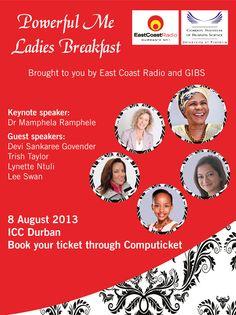 ECR.co.za - GIBS Ladies Breakfast hosted by East Coast Radio