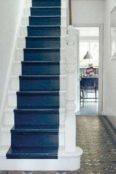 Painted Stairs!