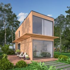 Remember that I said Michigan based company; Minimalist Homes had 3 shipping container homes? Here is the second one. I really enjoy the names selected ...