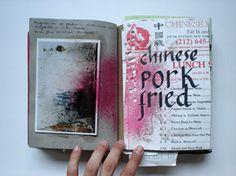yomar augusto - interesting idea for sketchbook/cookbook