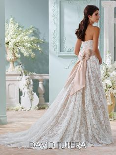 David Tutera At Estelle S Dressy Dresses In Farmingdale Ny Wedding Weddingdress Bridal Bridalgown Weddinggown Davidtutera Moncheri Gown Dress