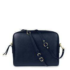CHICA+in+Navy+Napa+Leather