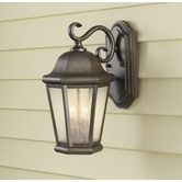Found it at Wayfair - MartinsvilleTwo  Light Outdoor Wall Lantern in Corinthian Bronze