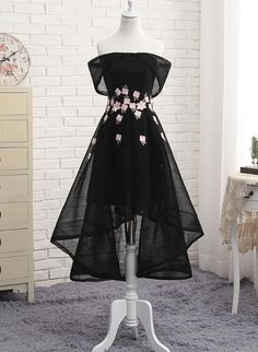 Off Shoulder High Low Fashionable Party Dress, Homecoming Dresses, Lovely Formal Dresses 2018 : Off Shoulder High Low Fashionable Party Dress, Homecoming Dresses, Lov – BeMyBridesmaid Cute Prom Dresses, Elegant Dresses, Pretty Dresses, Homecoming Dresses, Beautiful Dresses, Short Dresses, Formal Dresses, Dresses Dresses, Spring Dresses