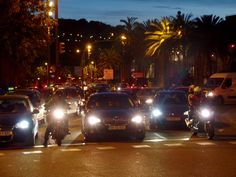 Wieczór w Barcelonie