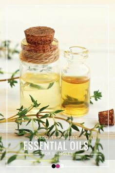 Discover the best essential oils for shingles!