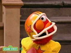 Sesame Street: Elmo And The NY Jets  My favourite NFL footballer, local Geelong (Australia) boy Ben Graham! <3 *swoon* (HR)