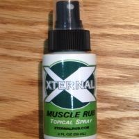 Xternal Rub is a topical squirt with our proprietary vigorous ingredients that tender direct and potent amnesty from pain caused by: Minor Sprains, Arthritis, Backache, Headache, Joint Pain, Skin Irritation, Chronic Pain, Stiffness, Muscle Aches, and more
