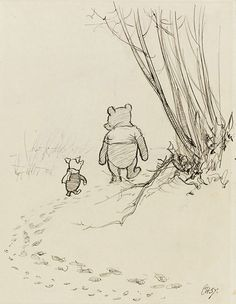 E.H.Shepard from Winne the Pooh