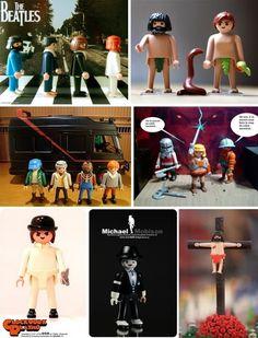 Sólo escuchar la palabra Playmobil me llena la cabeza de bonitos recuerdos. Siempre me gustaron aunque la verdad es que no tuve muchos muñe... Playmobil Toys, Toy Display, German Toys, Heart For Kids, Childhood Toys, Cultura Pop, Just Kidding, Little People, Toy Story