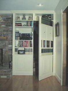 Library  Hidden door Part_Open by jamestrussell, via Flickr