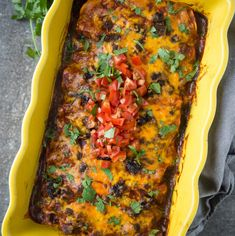 Beef Enchiladas made with leftover smoked brisket. Beef Brisket Enchiladas are the best use for leftover brisket (though any cut of beef works great too). Brisket Tacos, Brisket Sandwich, Brisket Chili, Brisket Meat, Steak Tacos, Mexican Food Recipes, Beef Recipes, Game Recipes, Spinach Recipes