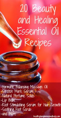 20 Beauty and Healing Essential Oil Recipes Call and give distributor id# 1540368 to buy therapeutic essential oils for your body's needs. Doterra Oils, Doterra Essential Oils, Natural Essential Oils, Essential Oil Blends, Natural Oils, Natural Health, Healing Oils, Aromatherapy Oils, Young Living Oils