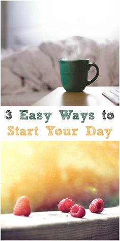 Start your day off gently with these 3 easy tips!