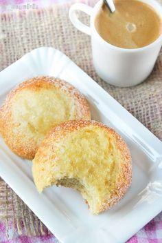 scones with cream and sugar.