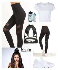 """Untitled #110"" by buki2000 on Polyvore featuring NIKE, RE/DONE, adidas and Ankit"