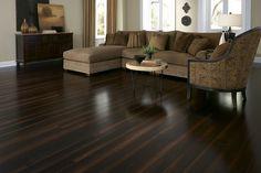 ideas dark wood laminate flooring lumber liquidators for 2019 Dark Laminate Floors, How To Clean Laminate Flooring, Dark Wood Floors, Wood Laminate, Hardwood Floor, Flooring Options, Flooring Ideas, Wood Flooring, Dark Flooring