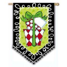 Polka Dot Presents House Flag