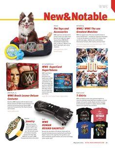 #WWE New & Notable Products #LicensingExpo #E32016 #E3 #RetailMerchandiser