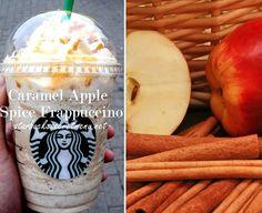 Caramel Apple Spice Frappuccino via Starbucks Secret Menu! Order by recipe here: http://starbuckssecretmenu.net/starbucks-secret-menu-caramel-apple-spice-frappuccino/