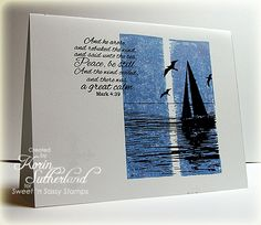 A Great Calm WT414 by sweetnsassystamps - Cards and Paper Crafts at Splitcoaststampers