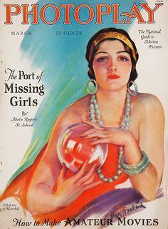 Arlette Marchal, Carl Van Buskirk, 1927, Photoplay